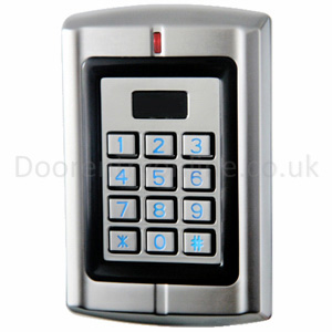 Digital keypad with card/fob reader R3K