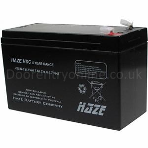 12v dc 7amp Battery