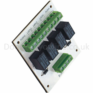TDIM - Two door interlock relay