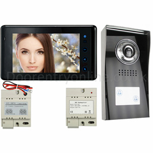 Colour video door entry system - Prestige 594-2