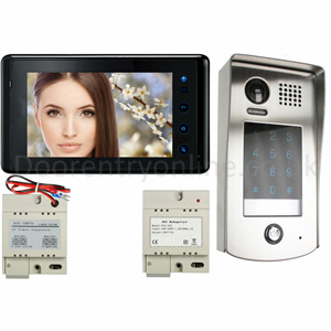 Video entry system 601/kp, 2 wire video entry system